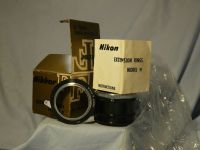 '   NIKON K -MINT- ' Nikon Extension Rings Model K Boxed + Inst -MINT- £14.99